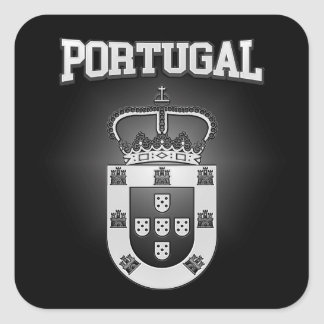 Portugal Coat of Arms Square Sticker