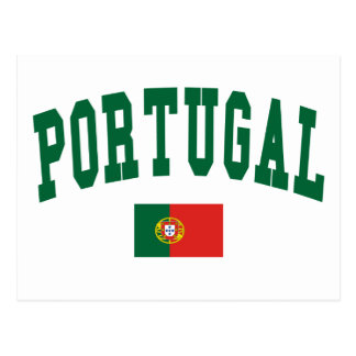 Portugal College Style Postcard