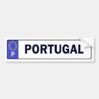 Portugal EU License Sticker