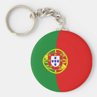 Portugal Fisheye Flag Keychain