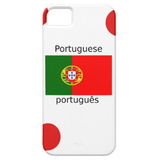 Portugal Flag And Portuguese Language Design Barely There iPhone 5 Case
