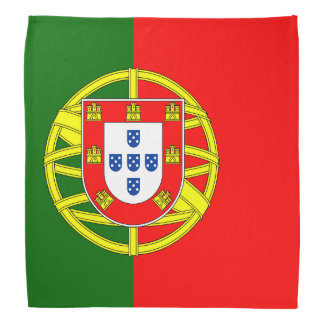 Portugal Flag Bandana