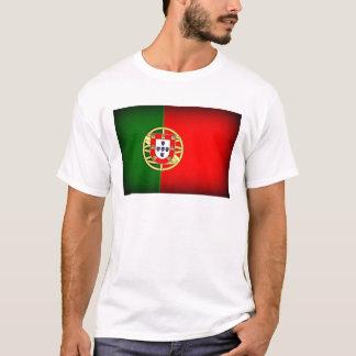 Portugal Flag Black Edge T-Shirt