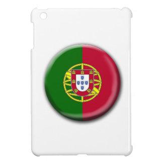 Portugal Flag Button iPad Mini Case