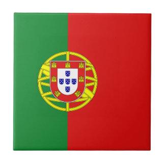Portugal Flag Ceramic Tile