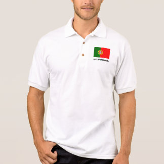 Portugal flag custom polo shirts for men and women