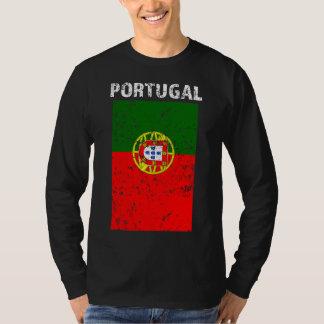 Portugal Flag -Distressed men shirt