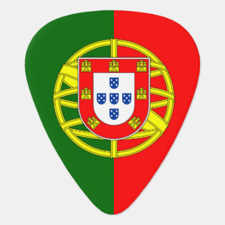 Portugal flag guitar pick for Portuguese musicians