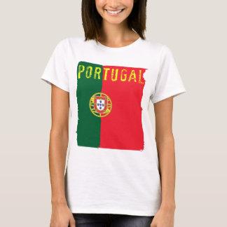 Portugal Flag Ladies Top