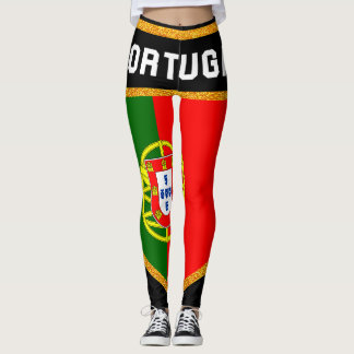 Portugal Flag Leggings