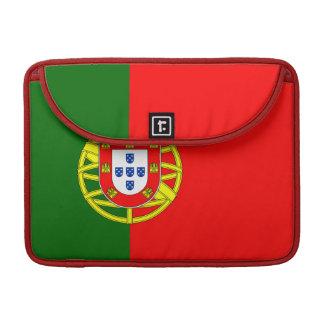 Portugal Flag MacBook Sleeve Pro