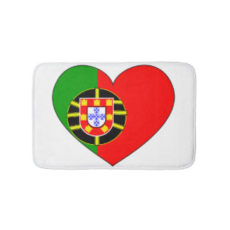 Portugal Flag Simple Bath Mats