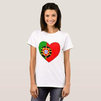 Portugal Flag Simple T-Shirt