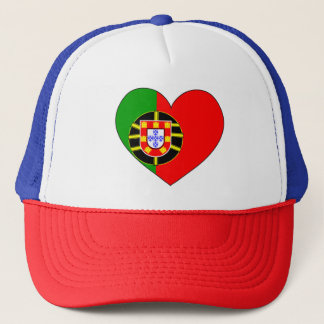 Portugal Flag Simple Trucker Hat