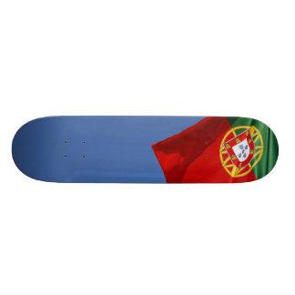 Portugal flag 20.6 cm skateboard deck