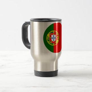Portugal Flag Travel Mug
