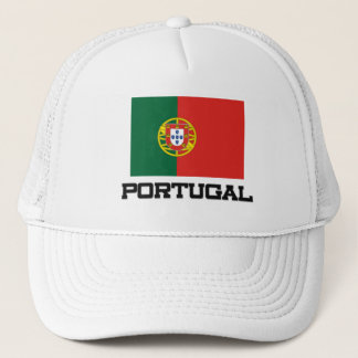 Portugal Flag Trucker Hat