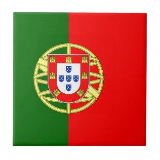 Portugal flage design tile