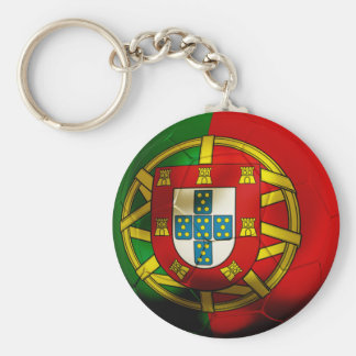 Portugal Football Key Ring