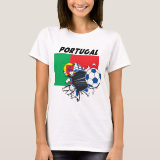 Portugal Futbol Soccer Team T-Shirt
