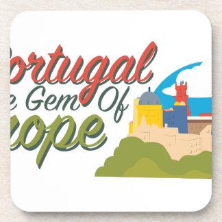 Portugal Gem Of Europe Coaster