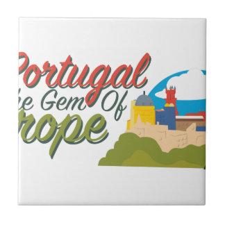 Portugal Gem Of Europe Tile