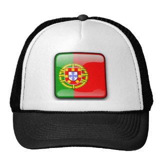 Portugal glossy flag cap