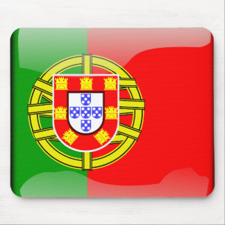 Portugal glossy flag mouse pad