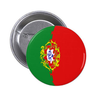 Portugal Gnarly Flag Pin