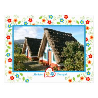 Portugal in photos -  Madeira Island Postcard