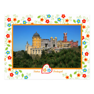 Portugal in photos - Penha Palace Postcard
