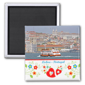 Portugal in photos - The city of Lisbon Magnet