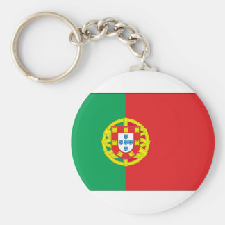 PORTUGAL BASIC ROUND BUTTON KEY RING