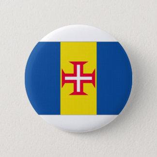 Portugal Madeira Flag 6 Cm Round Badge