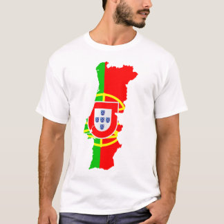 Portugal map and flag T-Shirt