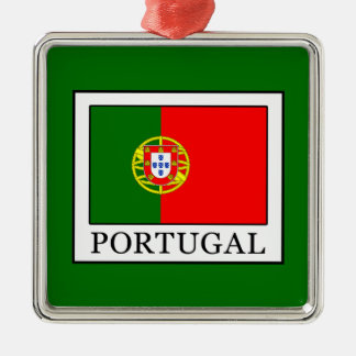 Portugal Metal Ornament