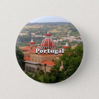 Portugal: Monserrate Palace, near Sintra 6 Cm Round Badge