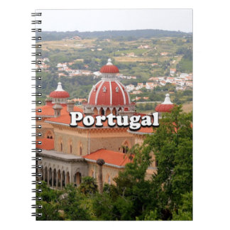 Portugal: Monserrate Palace, near Sintra Spiral Notebook