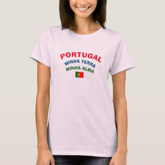 Portugal My Land My Soul Shirt