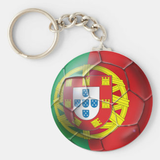 Portugal National football soccer team fans Tees Basic Round Button Key Ring