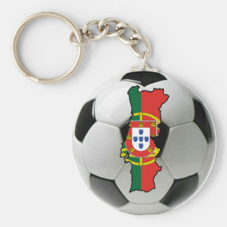 Portugal national team basic round button key ring