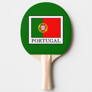 Portugal Ping Pong Paddle