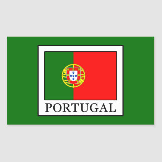 Portugal Rectangular Sticker