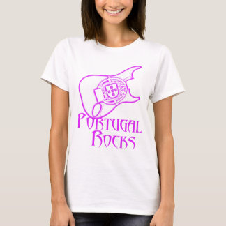 Portugal Rocks Womens Shirt