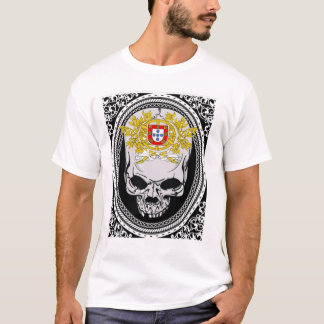 Portugal Skull Shield T-Shirt