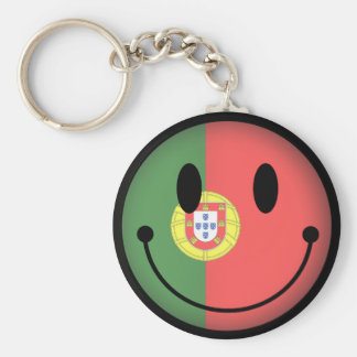 Portugal Smiley Key Ring