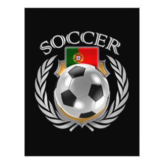 Portugal Soccer 2016 Fan Gear 21.5 Cm X 28 Cm Flyer
