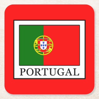Portugal Square Paper Coaster