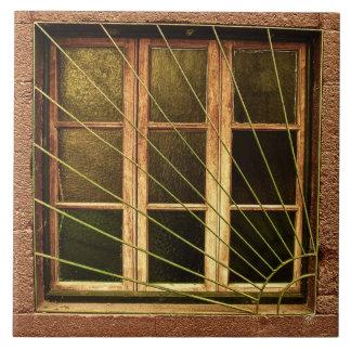 Portugal : Sunshine Window Ceramic Tile