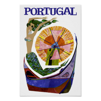Portugal travel poster